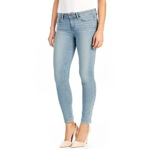 Paige Verdugo Ultra Skinny Light Blue Jeans Sz 32